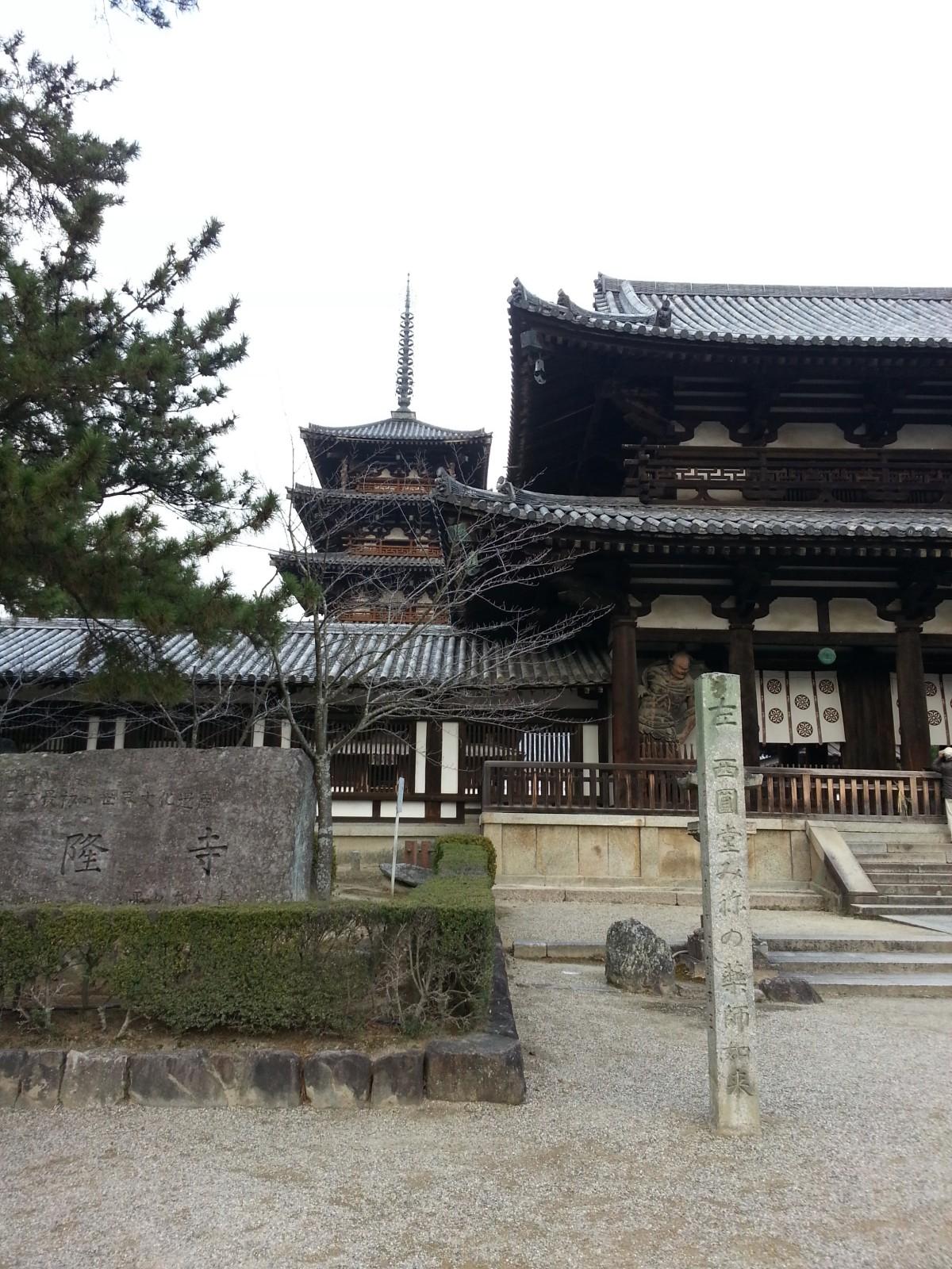 Nara: Horyuji' sTemples