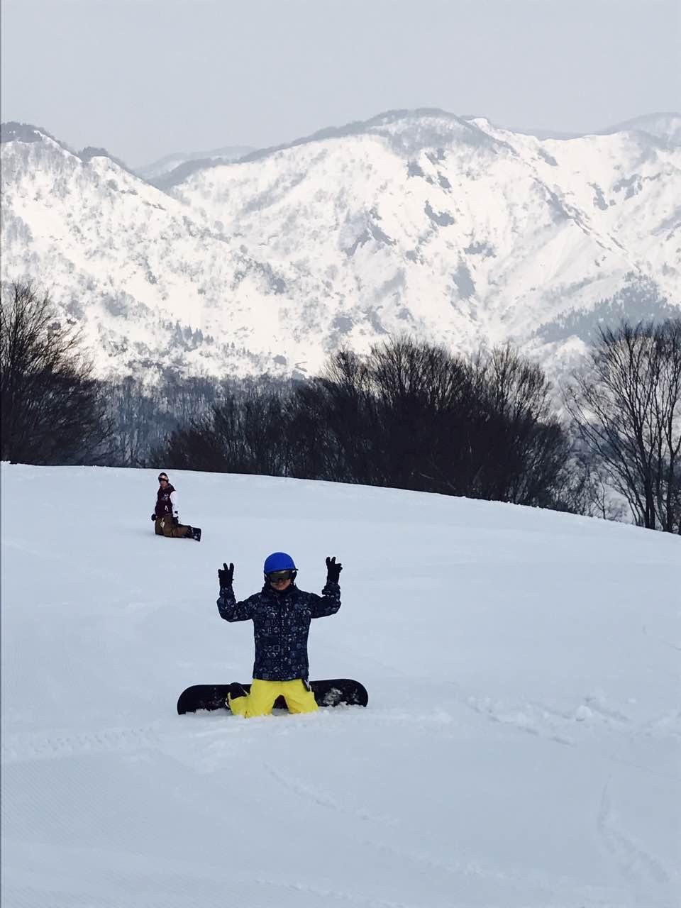 滑雪的人 2