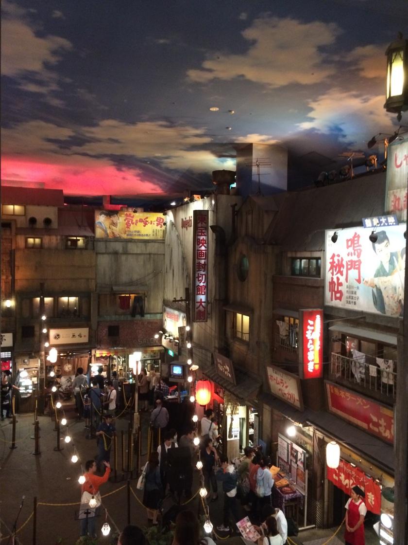 Showa styled street