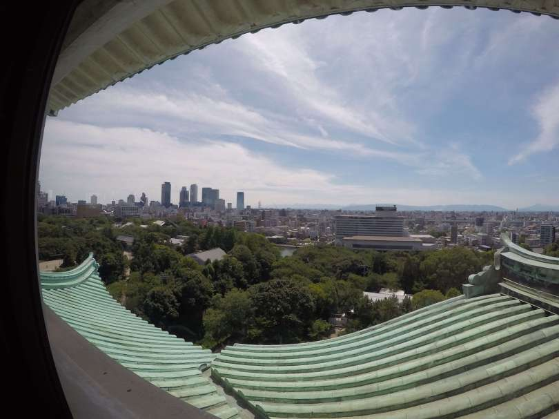 city view from nagoya castle