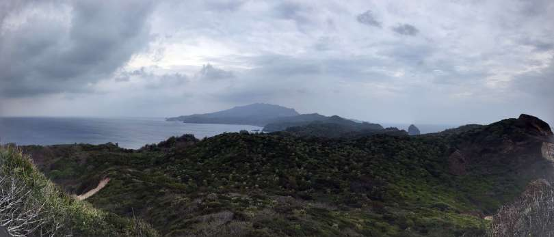 panoramic view in hahajima