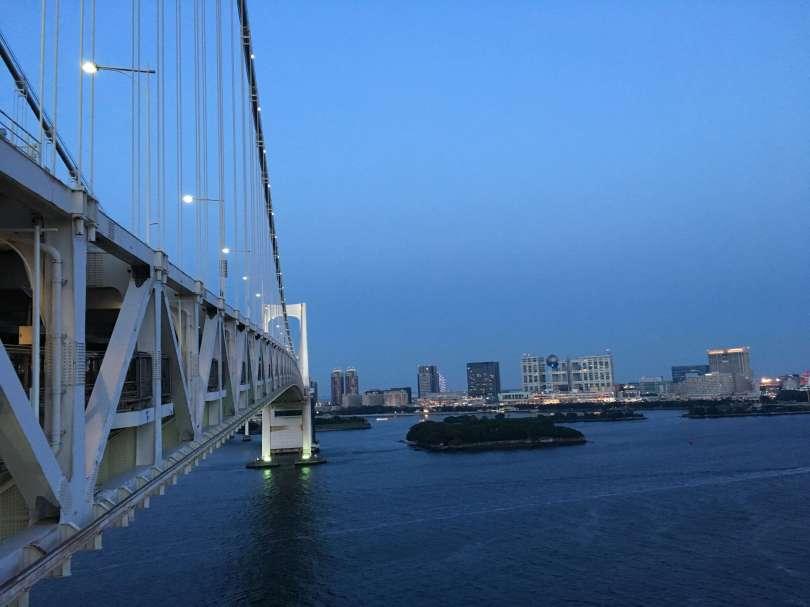 Odaiba from Rainbow Bridge