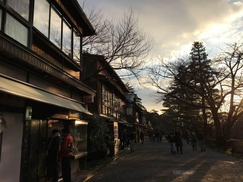 outside Kenrokuen